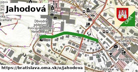 ilustrácia k Jahodová, Bratislava - 328m
