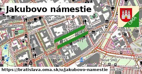 ilustrácia k Jakubovo námestie, Bratislava - 356m