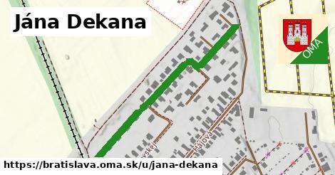 ilustračný obrázok k Jána Dekana, Bratislava