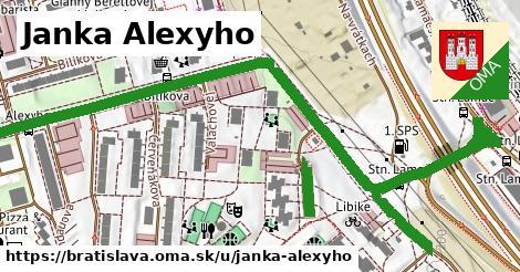 ilustrácia k Janka Alexyho, Bratislava - 1,13km