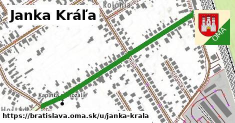 ilustrácia k Janka Kráľa, Bratislava - 569m