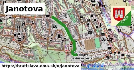 ilustračný obrázok k Janotova, Bratislava