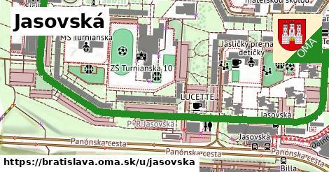 ilustračný obrázok k Jasovská, Bratislava