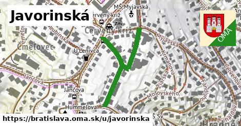 ilustrácia k Javorinská, Bratislava - 401m