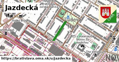 ilustrácia k Jazdecká, Bratislava - 142m