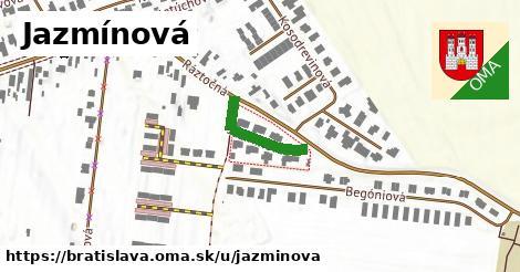 ilustrácia k Jazmínová, Bratislava - 161m