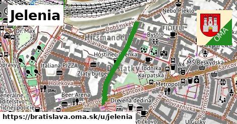 ilustrácia k Jelenia, Bratislava - 262m