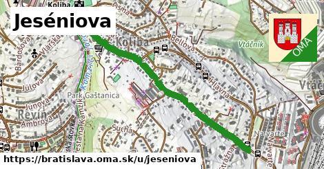 ilustračný obrázok k Jeséniova, Bratislava