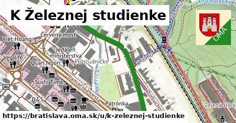 ilustračný obrázok k K Železnej studienke, Bratislava