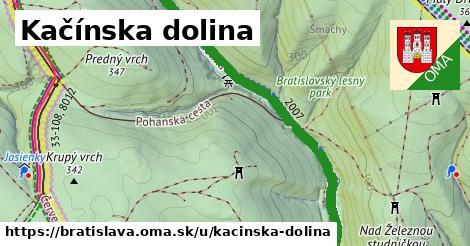 ilustračný obrázok k Kačínska dolina, Bratislava