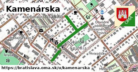ilustrácia k Kamenárska, Bratislava - 314m