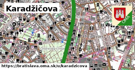 ilustrácia k Karadžičova, Bratislava - 2,6km
