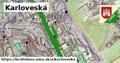 ilustrácia k Karloveská, Bratislava - 6,2km