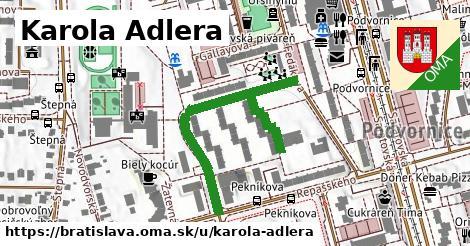 ilustračný obrázok k Karola Adlera, Bratislava