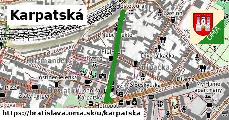 ilustrácia k Karpatská, Bratislava - 461m