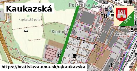 ilustrácia k Kaukazská, Bratislava - 687m