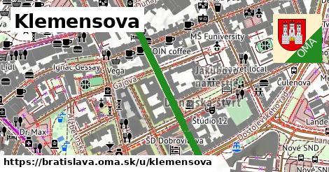 ilustrácia k Klemensova, Bratislava - 389m