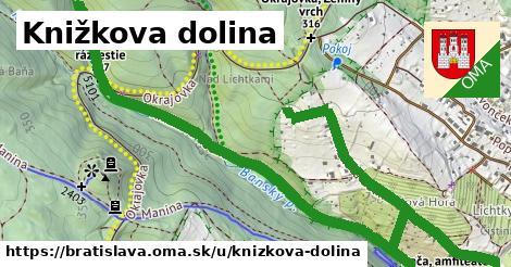 ilustrácia k Knižkova dolina, Bratislava - 4,0km