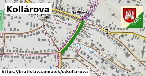 ilustračný obrázok k Kollárova, Bratislava