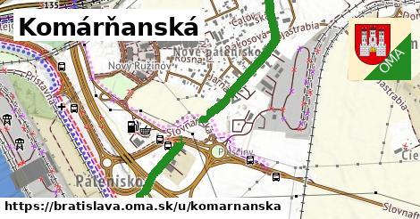 ilustrácia k Komárňanská, Bratislava - 495m