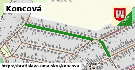 ilustrácia k Koncová, Bratislava - 504m