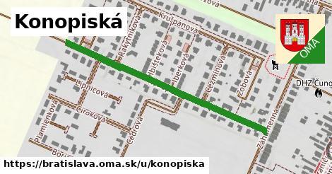 ilustrácia k Konopiská, Bratislava - 494m