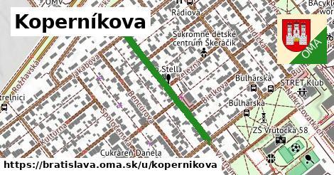 ilustrácia k Kopernikova, Bratislava - 304m