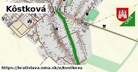 ilustrácia k Kôstková, Bratislava - 636m