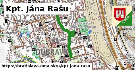 ilustračný obrázok k Kpt. Jána Rašu, Bratislava