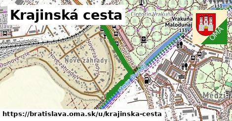 ilustrácia k Krajinská cesta, Bratislava - 636m