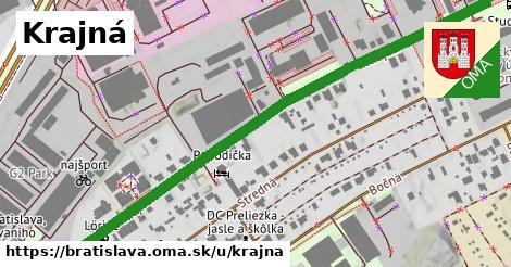ilustrácia k Krajná, Bratislava - 0,91km