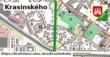 ilustračný obrázok k Krasinského, Bratislava