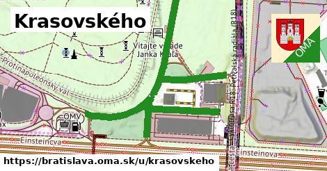 ilustračný obrázok k Krasovského, Bratislava