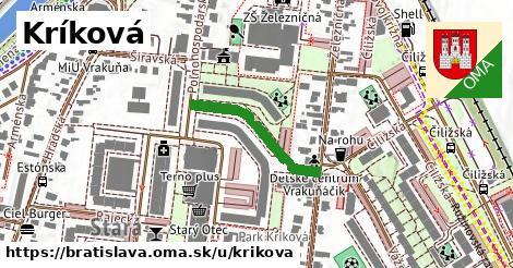 ilustrácia k Kríková, Bratislava - 228m