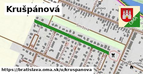 ilustračný obrázok k Krušpánová, Bratislava