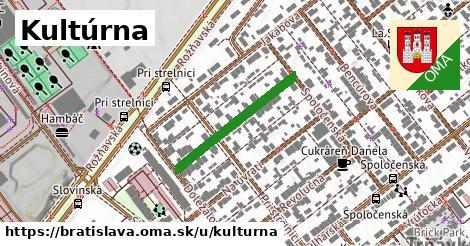 ilustrácia k Kultúrna, Bratislava - 242m