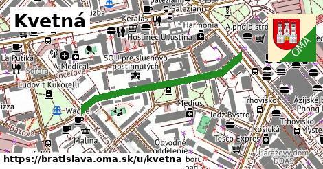 ilustrácia k Kvetná, Bratislava - 401m