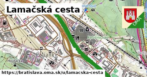 ilustračný obrázok k Lamačská cesta, Bratislava