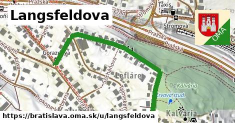 ilustračný obrázok k Langsfeldova, Bratislava