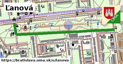 ilustrácia k Ľanová, Bratislava - 673m