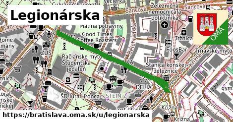 ilustrácia k Legionárska, Bratislava - 470m
