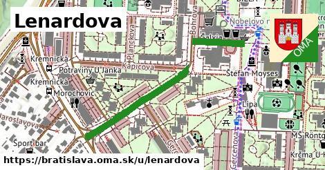 ilustračný obrázok k Lenardova, Bratislava