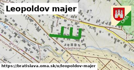 ilustračný obrázok k Leopoldov majer, Bratislava