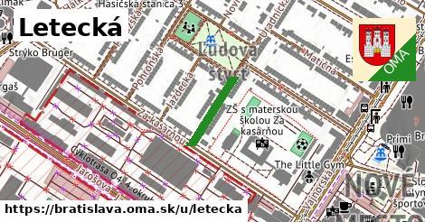 ilustrácia k Letecká, Bratislava - 144m