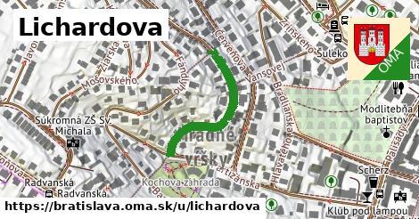 ilustrácia k Lichardova, Bratislava - 273m