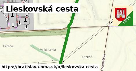 ilustrácia k Lieskovská cesta, Bratislava - 3,4km