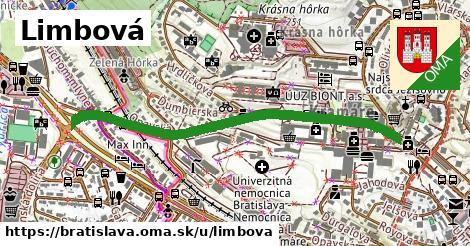 ilustračný obrázok k Limbová, Bratislava