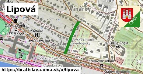 ilustrácia k Lipová, Bratislava - 186m