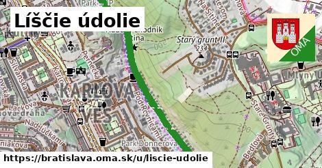 ilustrácia k Líščie údolie, Bratislava - 3,0km