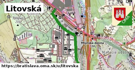 ilustrácia k Litovská, Bratislava - 0,76km